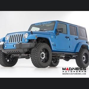 "Jeep Wrangler JK Suspension Lift Kit w/Control Arm Drops & Vertex Reservoir Shocks - 3.5"" Lift"